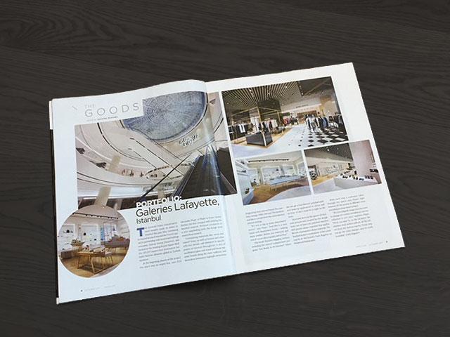 VMSD, magazine, plajer & franz studio, Galeries Lafayette, dapartment store, store design, retail design